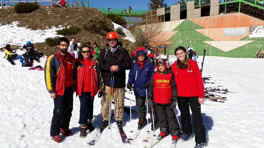 Curso ski sábados 2015. Esquí en un entorno familiar