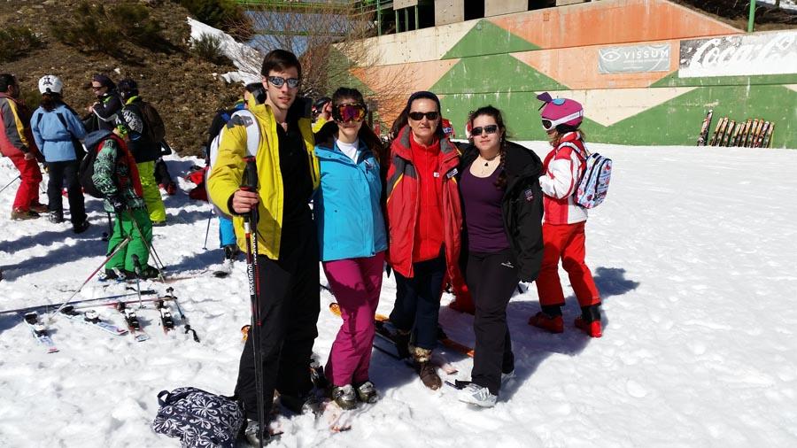 Curso ski sábados 2015. Esquí libre en La Pinilla