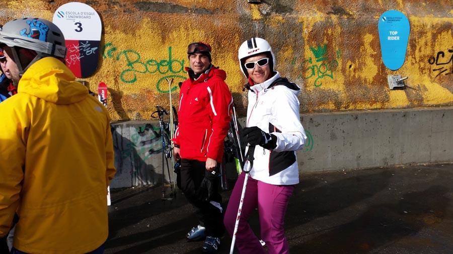curso esqui organizado adultos