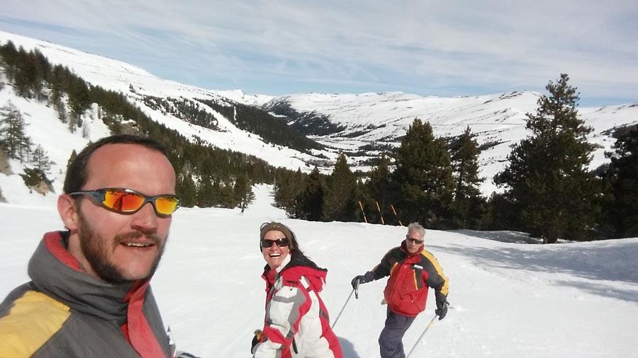 Esquiando en Andorra Grandvalira