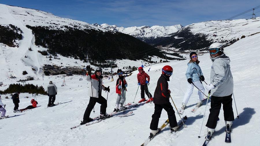Aprender a esquiar Grandvalira.
