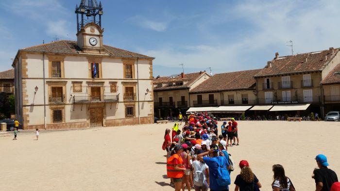 Visita Riaza Campamento de verano con inglés en Segovia a