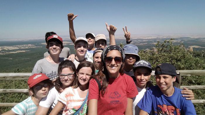 Campamento de verano en Segovia