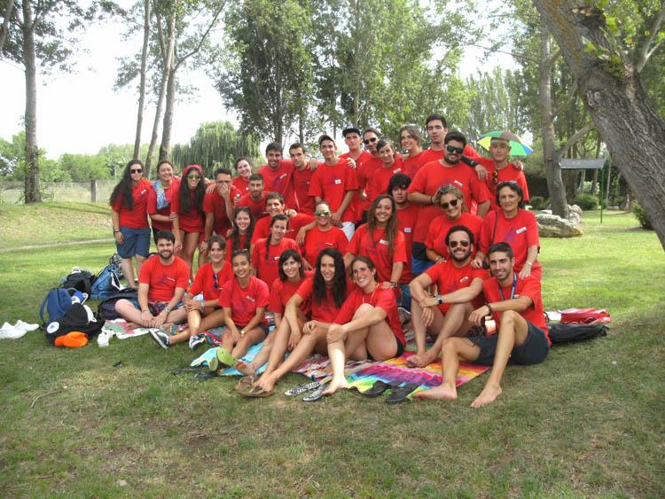 Monitores del Campamento con ingles en Salamanca