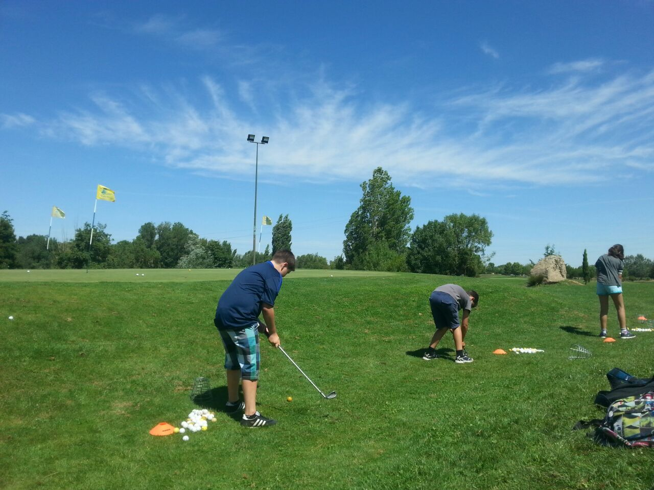 Golf en campamentos de verano
