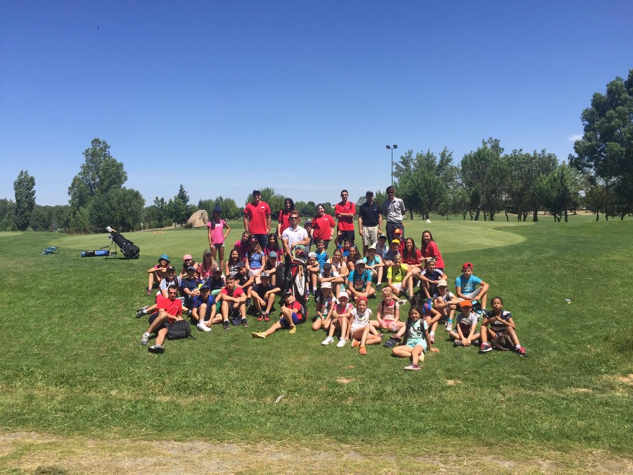 Campamento salamanca golf 1