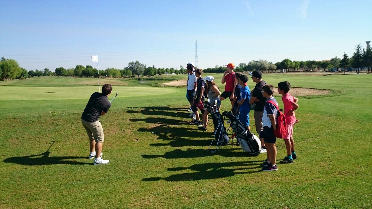 Golf niños campamentos
