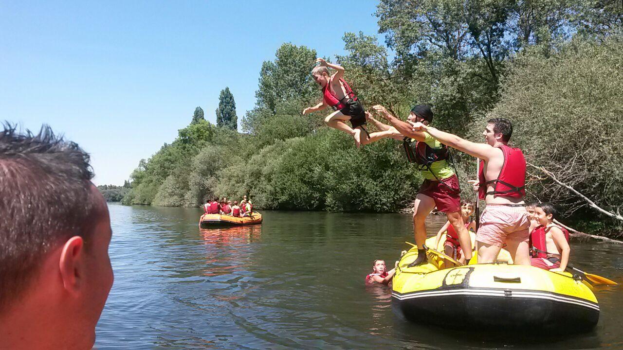 Rafting Campamento Salamanca