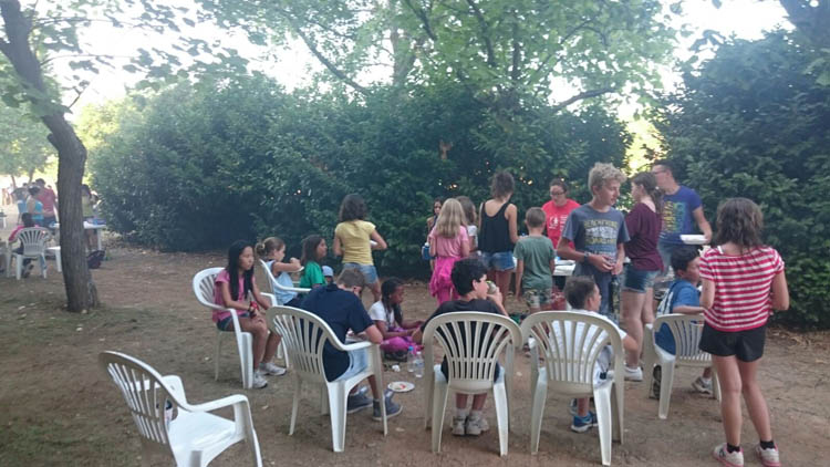 Barbacoa. Salamanca verano Eduma