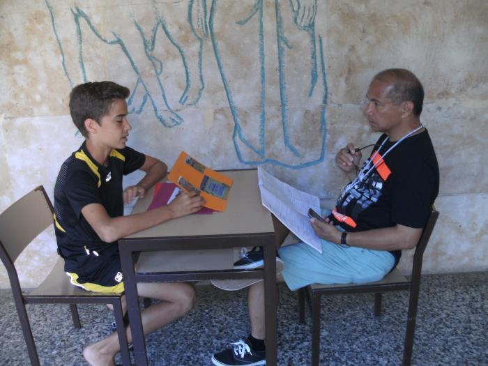 Clases inglés francés Campamento de Salamanca