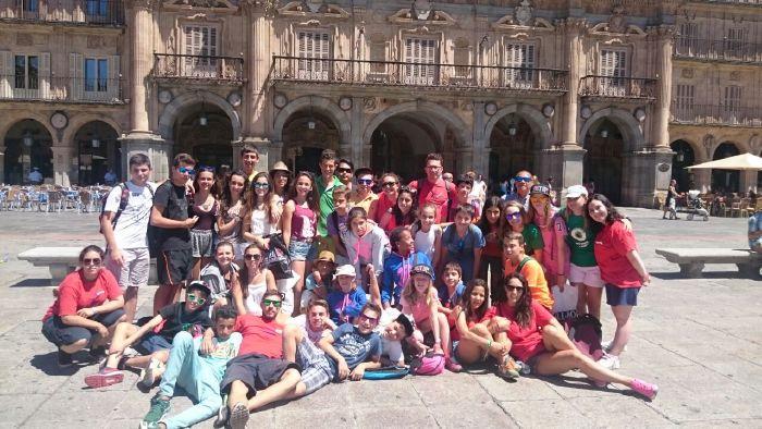 Visita a Salamanca campamento