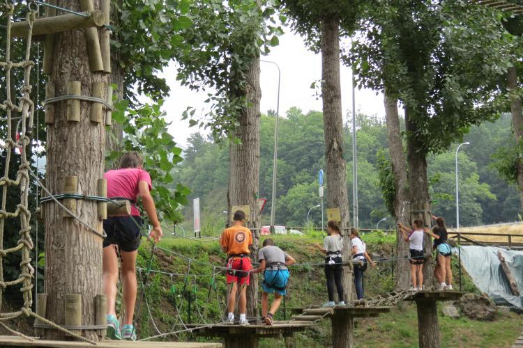 Parque actividades multiaventura