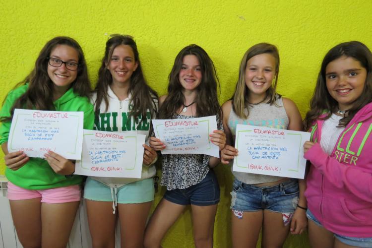 Grupo niñas Asturias 2015