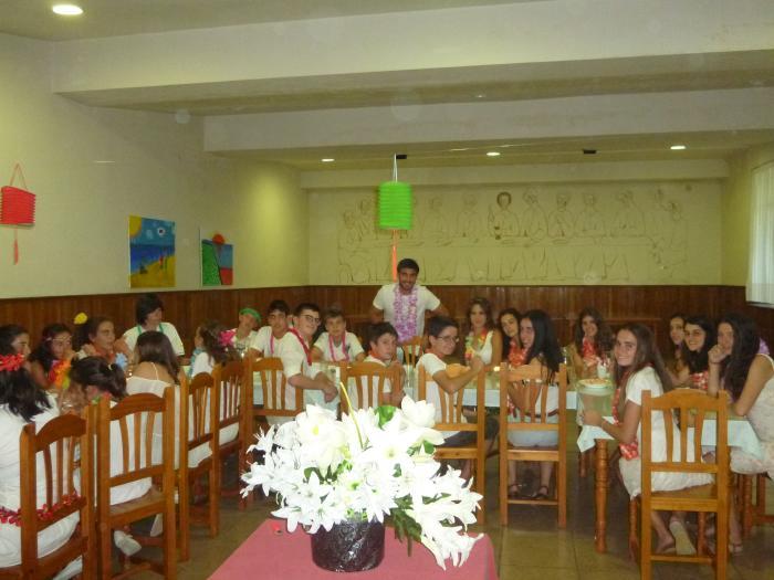Niños Campamento Salamanca inglés francés