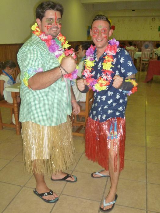 Fiesta hawaiana. Dia temático