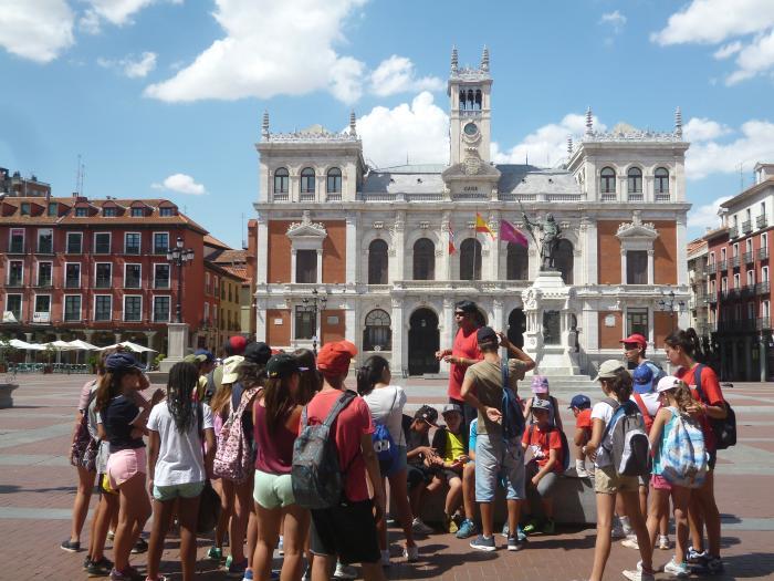 Visita a Valladolid niños campamentos