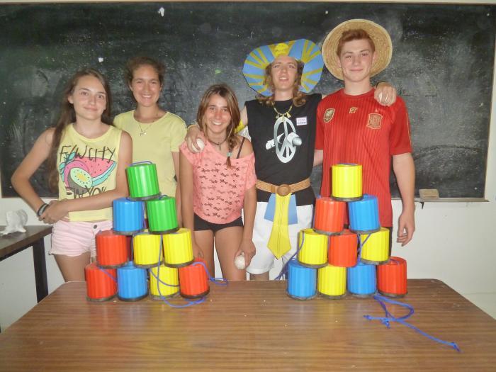 Niños Campamento de Salamanca inglés francés