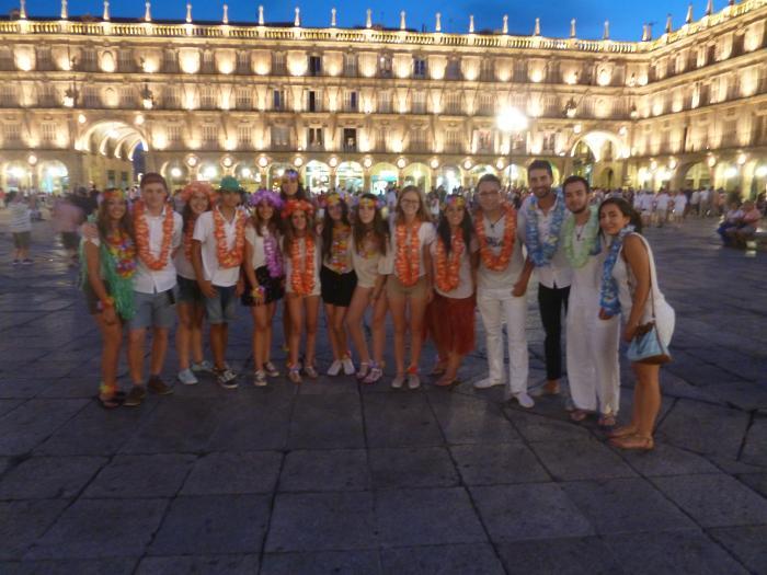 Visita Salamanca del campamento