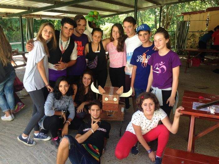 campamento de verano en Segovia h