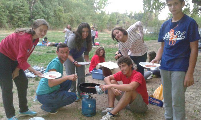 campamento en Riaza Segovia
