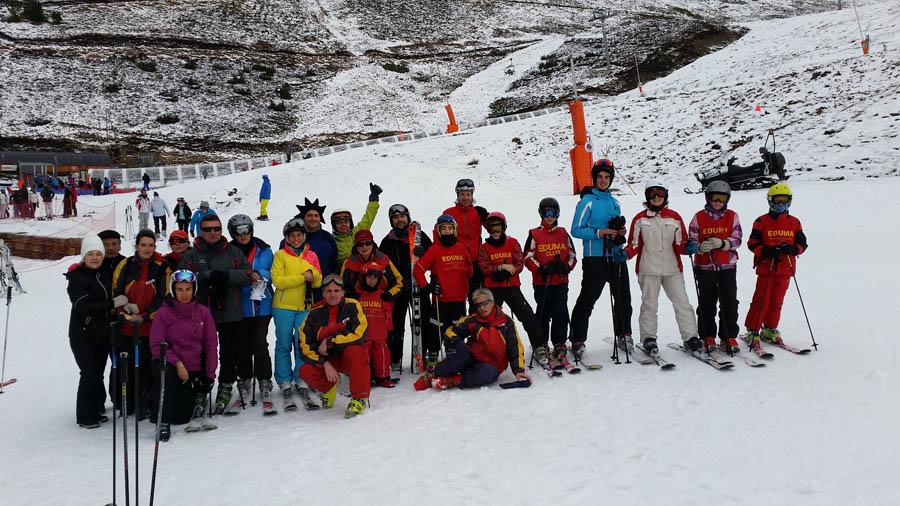 Esquiar en Reyes en Saint Lary Peyragudes.