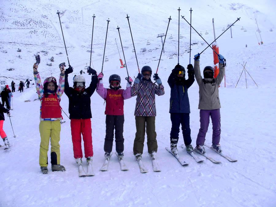 Curso de ski de Reyes en Saint Lary Peyragudes.