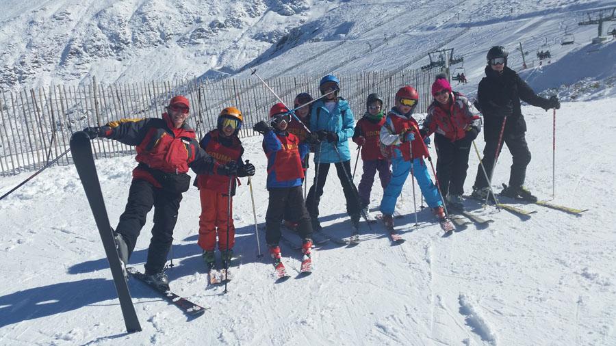 aprender a esquiar clases