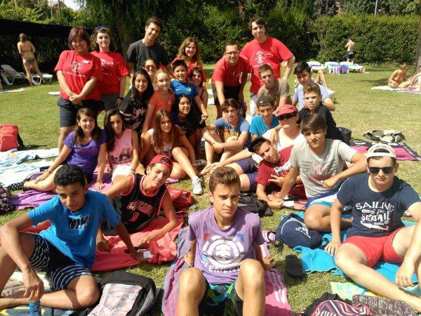 Actividades comunes del campamento con el curso intensivo de inglés