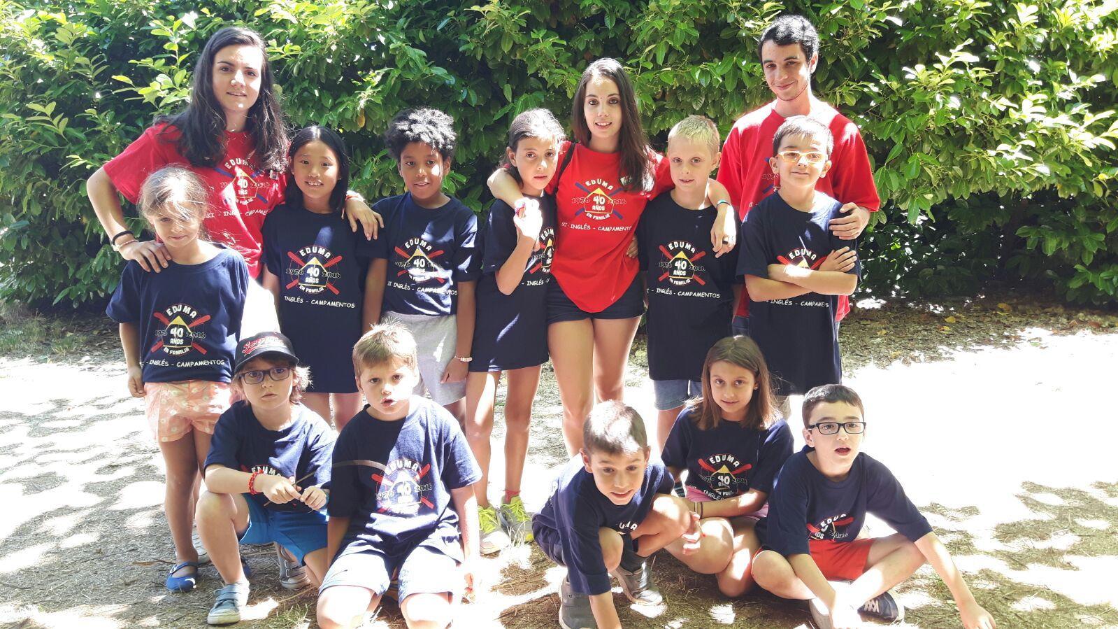 Vuelta a Madrid del campamento residencial con inglés de Salamanca