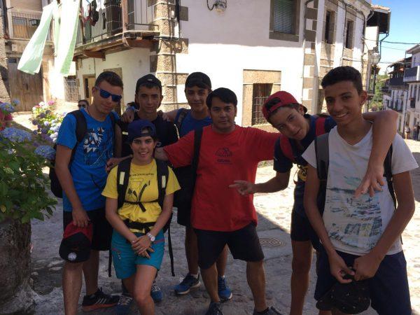 excursión al candelario del intensivo de ingles de Salamanca