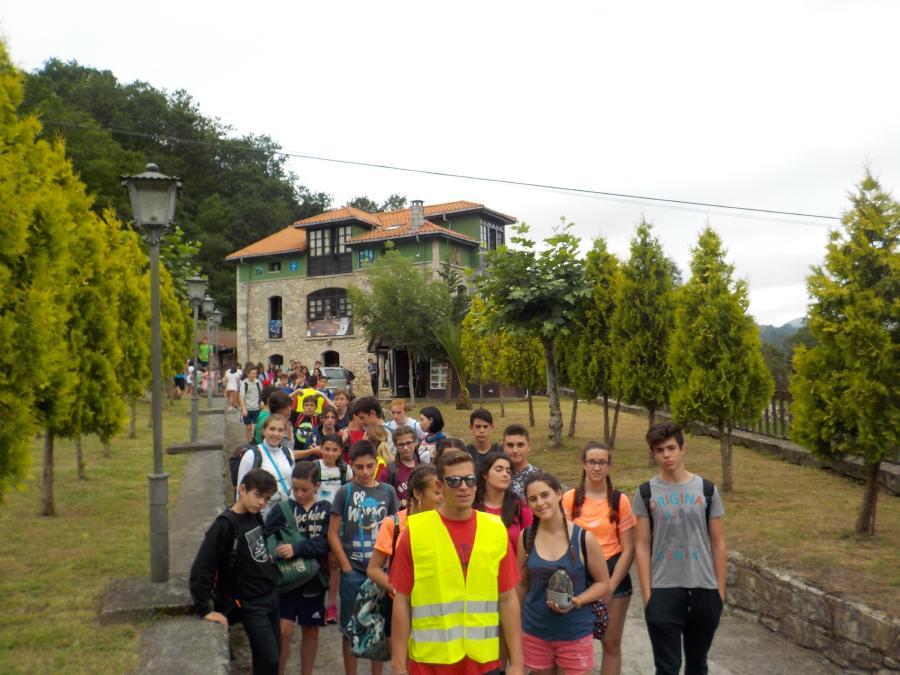 Excursión campamento Asturias julio
