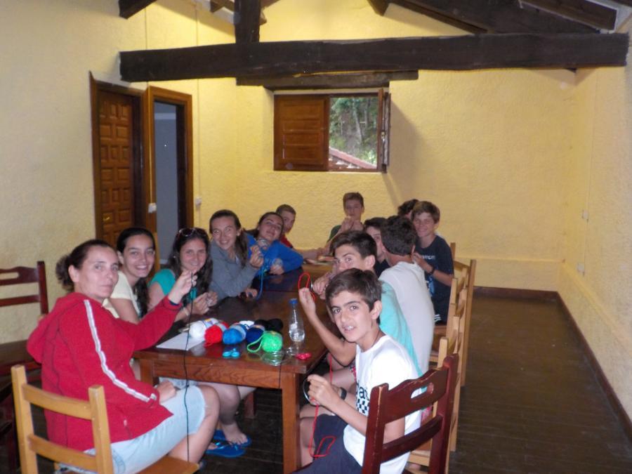 Campamento en Asturias