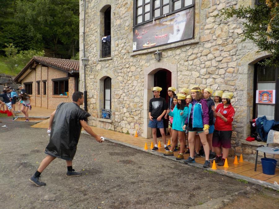Campamento de multiaventura en Asturias