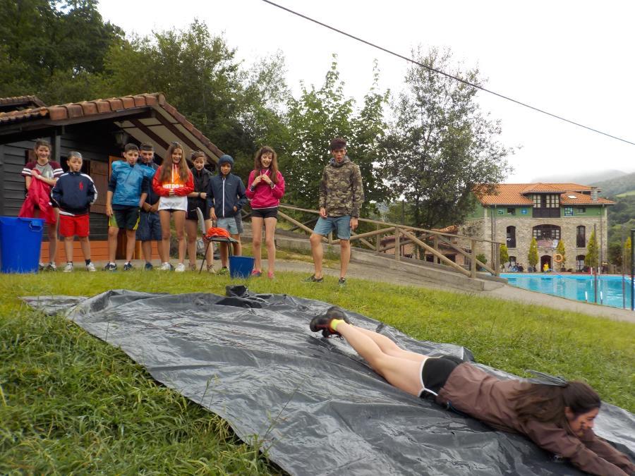 Pruebas deportivas en campamentos