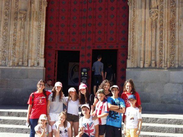 Excursión campamento Salamanca