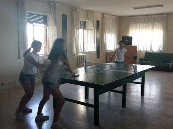 Actividades del campamento en Salamanca con francés o inglés