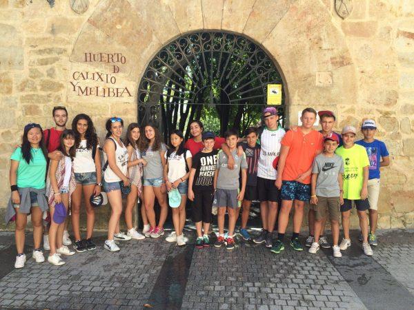 Excursión campamento Salamanca visita guiada