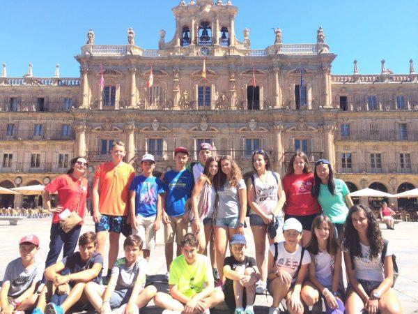 Excursión campamento Salamanca con inglés