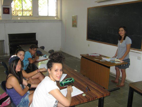 clases de inglés o francés en el campamento residencial ed Salamanca