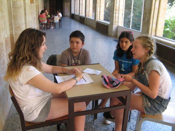 Preparando el examen del trinity en el curso intensivo de inglés