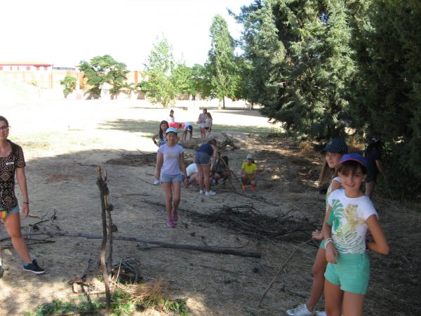 Actividades en el campamento residencial de salamanca