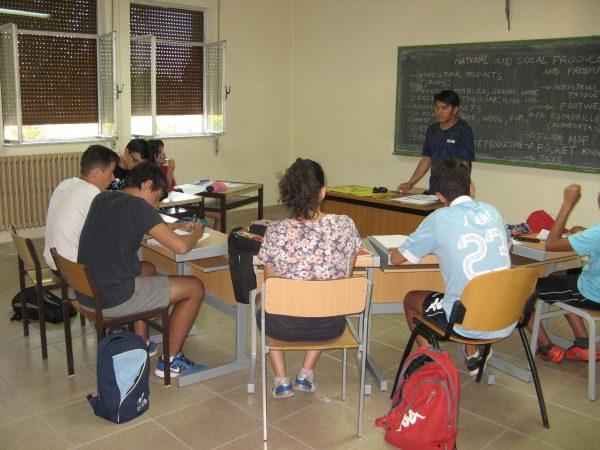 clases del curso intensivo de inglés de Salamanca