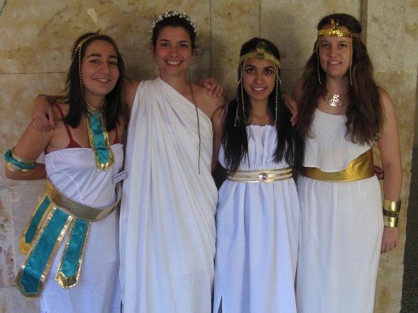 Día tematico del antiguo egipto en Salamanca