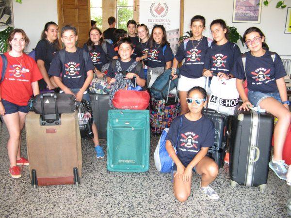 Despedida del curso intensivo de inglés en Salamanca