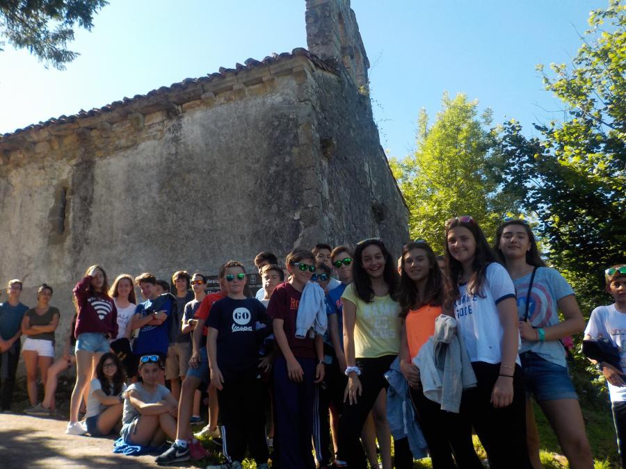 Excursión del Campamento de Asturias