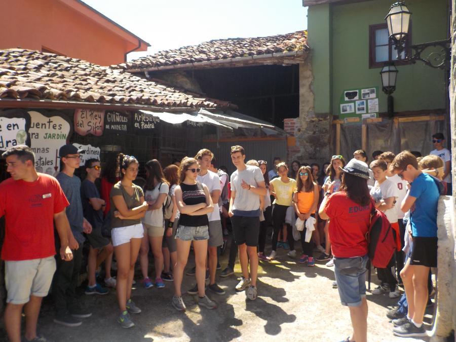 actividades del Campamento de Asturias