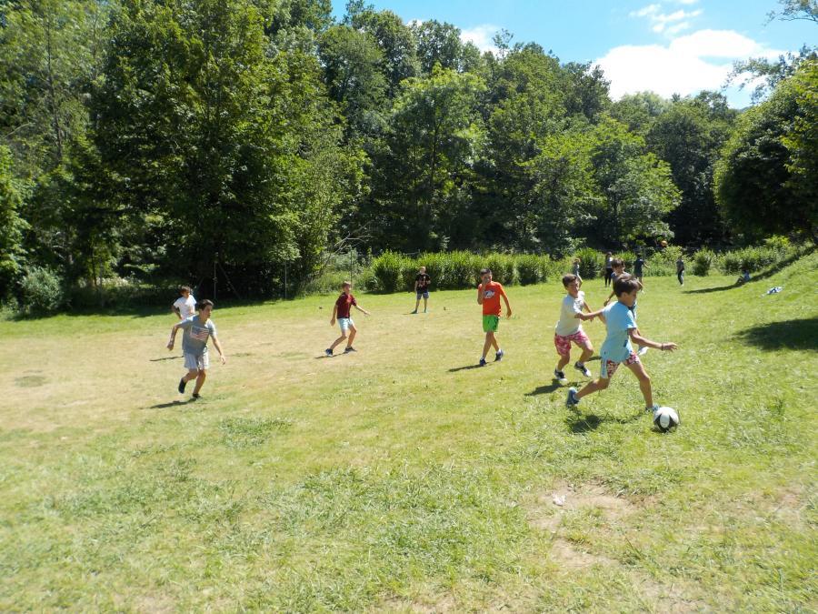 deportes en el Campamento de Asturias