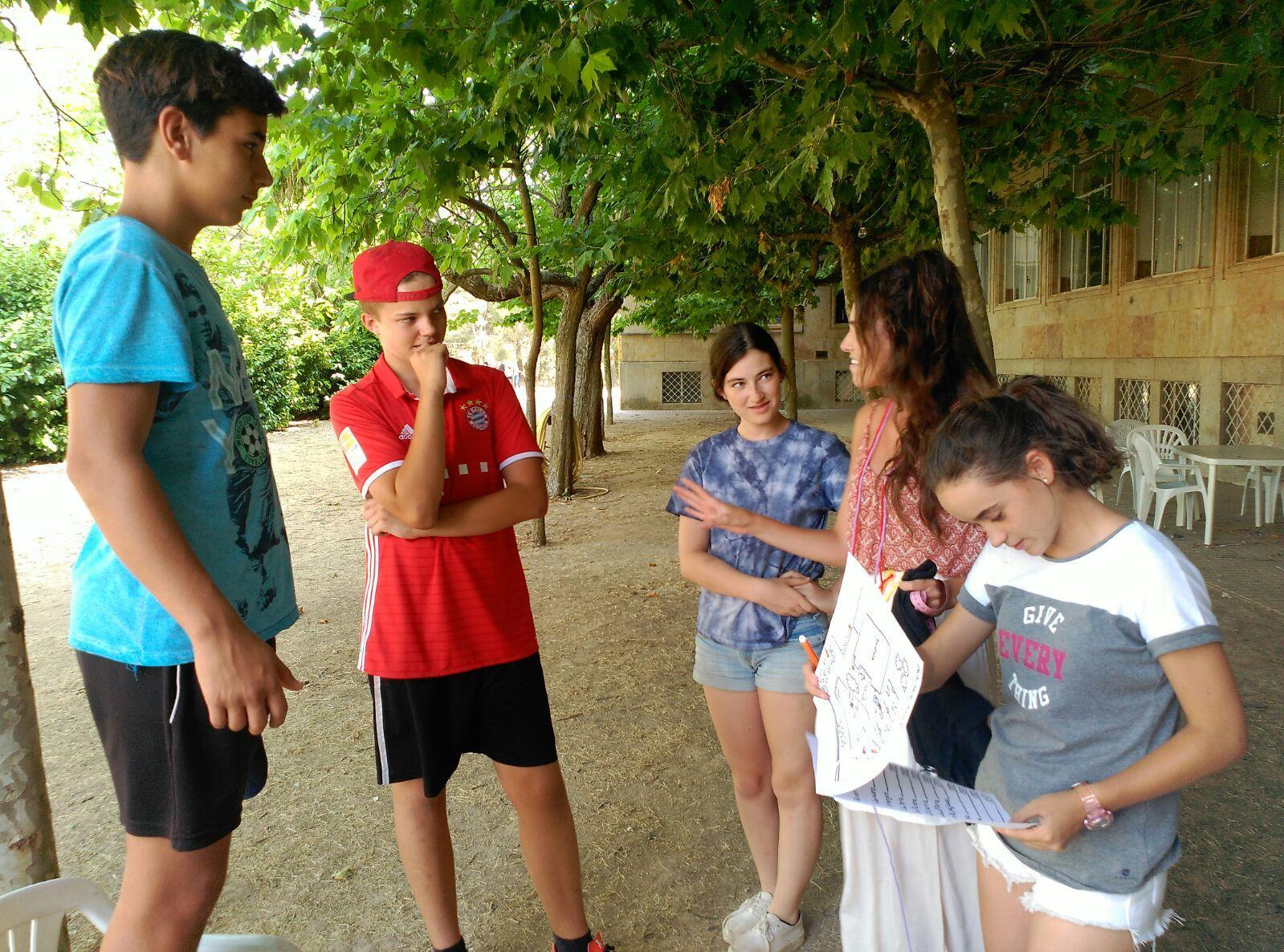Campamento Residencial Salamanca con idiomas: Actividades