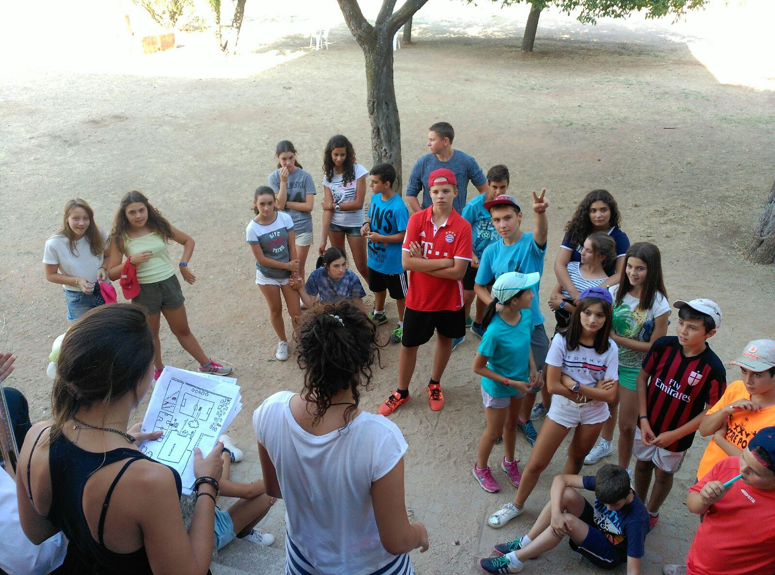 Campamento Residencial Salamanca con idiomas
