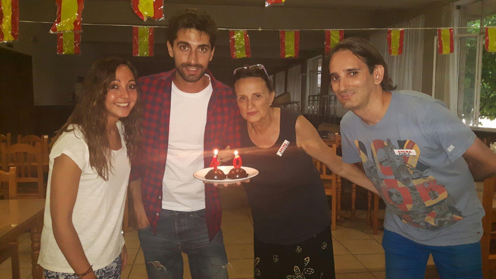 Campamento Residencial Salamanca con idiomas: Celebrando los 40 años del club